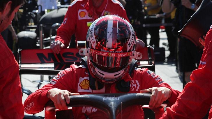 F1 Azerbaigian, Leclerc: «Dobbiamo lavorare»