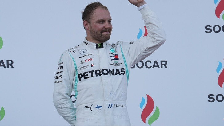 Gp Azerbaigian, Bottas: «Incredibili le prestazioni del team»