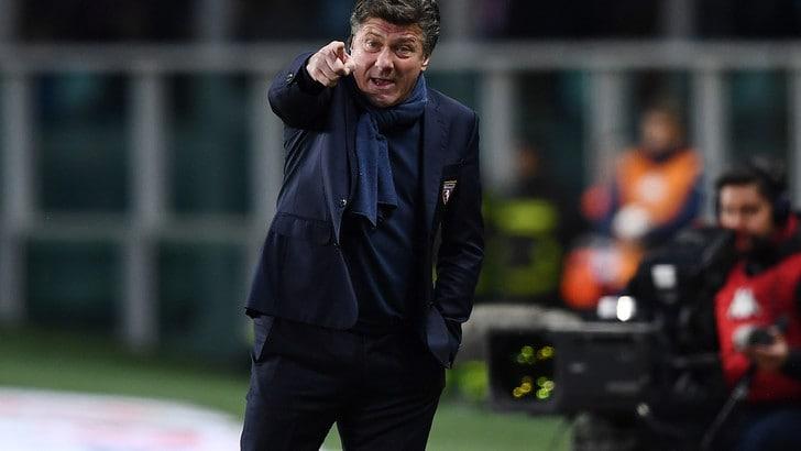 Serie A Torino, Mazzarri: «Espulsione? Evidentemente agli arbitri piace guardare me»