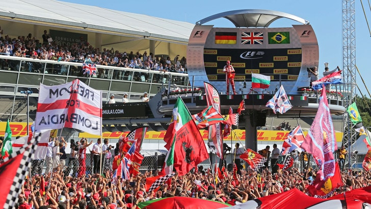 F1 Gp d'Italia: trovate le basi per accordo fino al 2024
