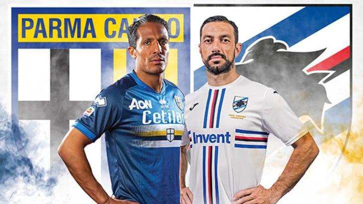 Serie A, Parma e Sampdoria giocheranno a maglie invertite