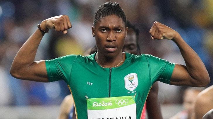 Atletica, imposta terapia ormonale alla Semenya: «Il Tas non mi fermerà»