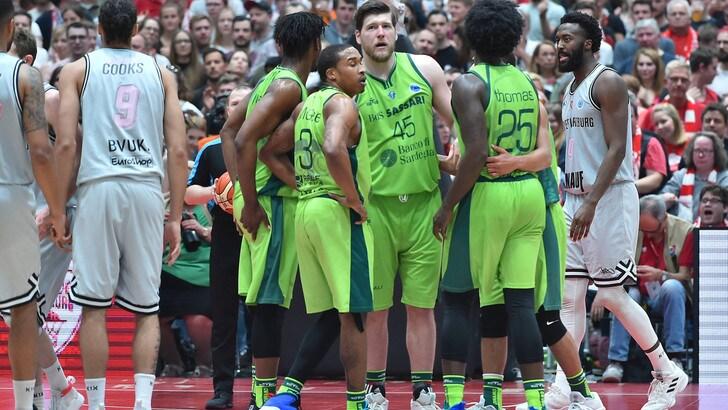 Basket l'Europe Cup è di Sassari!