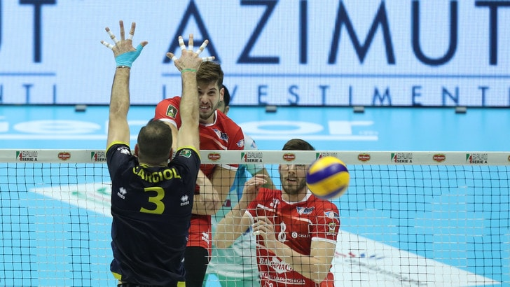 Volley: A2 Maschile, Play Off Promozione, Piacenza mette ancora ko Bergamo