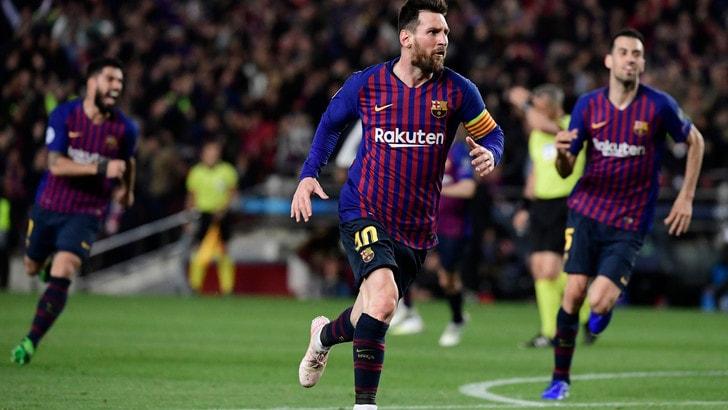 Messi risponde a Ronaldo: l'argentino fa 600 gol con la maglia del Barcellona