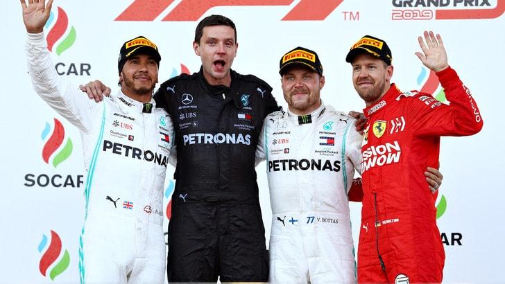 F1 Mercedes, Wolff: «Tra Bottas e Hamilton non deve esserci acredine»