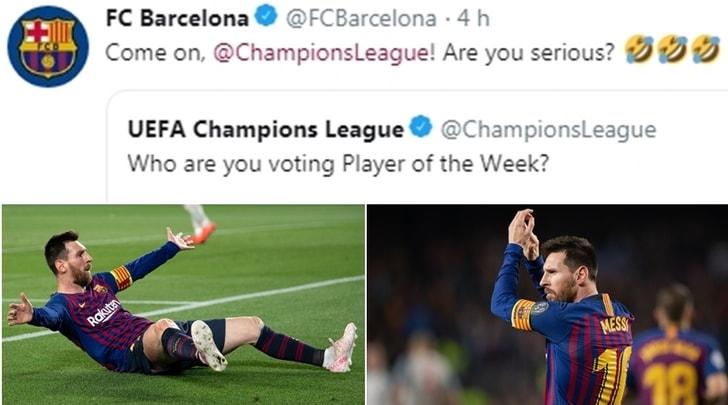 La Uefa discute Messi e il Barcellona risponde:«Ma siete seri?»