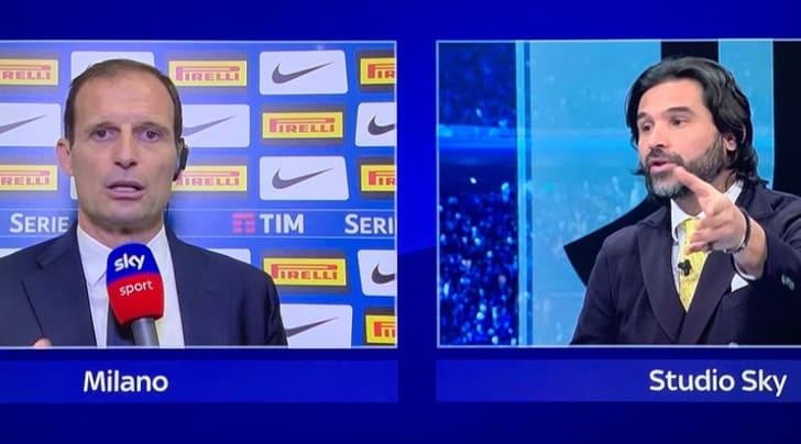 Juve-Torino, Adani aspetta Allegri in tv nel dopo partita
