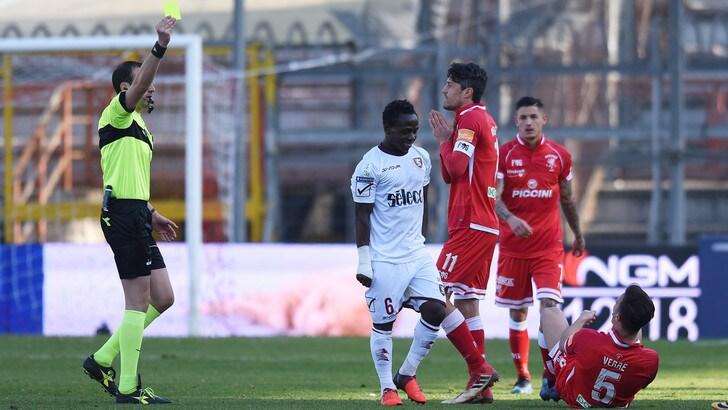 Serie B, sei giocatori squalificati per una giornata