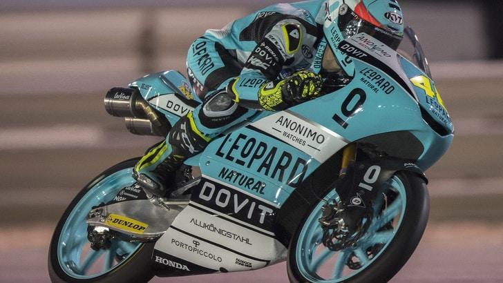Moto3, Jerez: pole per Dalla Porta, Vietti terzo