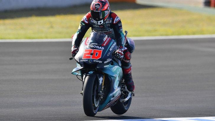 MotoGp Jerez, griglia di partenza: pole Quartararo, Rossi tredicesimo