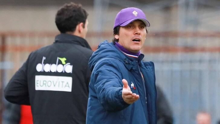 Serie A Fiorentina, Montella: «I ragazzi sono in difficoltà emotiva»