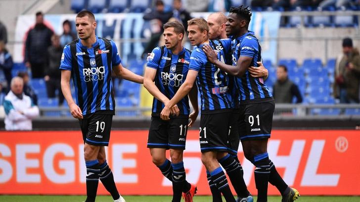 Serie A: Atalanta, tris da Champions con la Lazio. Doppietta Quagliarella: +4 su Ronaldo