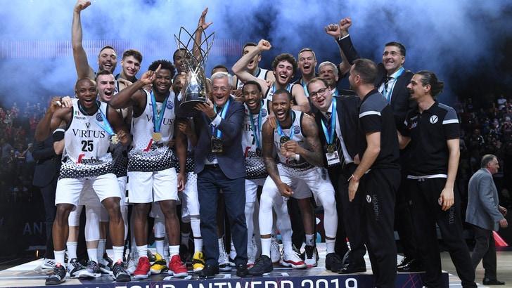 Basket, Virtus Bologna sul tetto d'Europa!