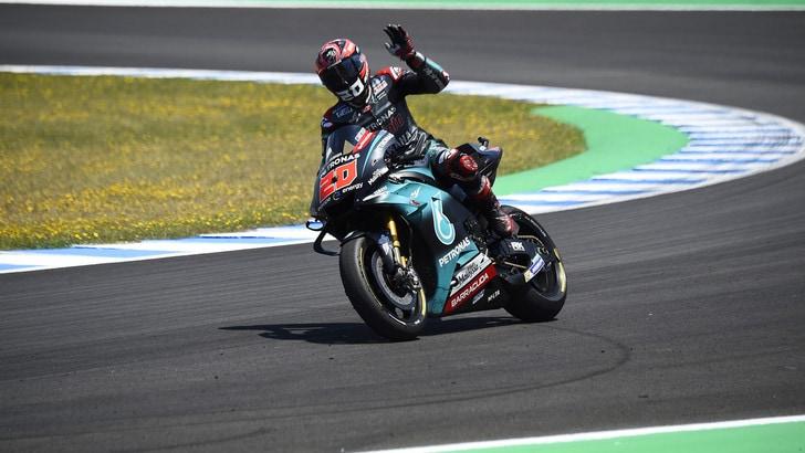 MotoGp, test Jerez: vola Quartararo! Rossi resta lontano