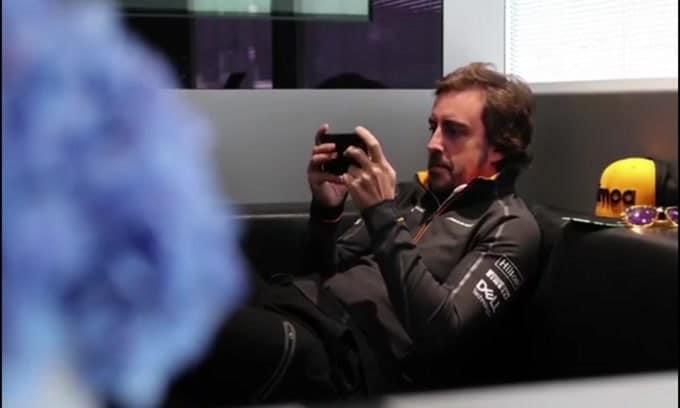 Alonso impegnato in un progetto top secret