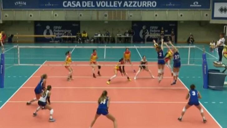 Volley: Nazionale Femminile, le azzurre battono la Cina U.23 in amichevole