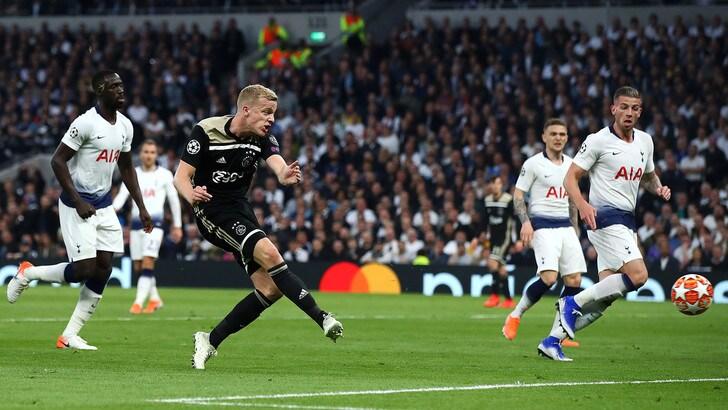 Diretta Ajax-Tottenham ore 21: come vederla in tv e le formazioni ufficiali