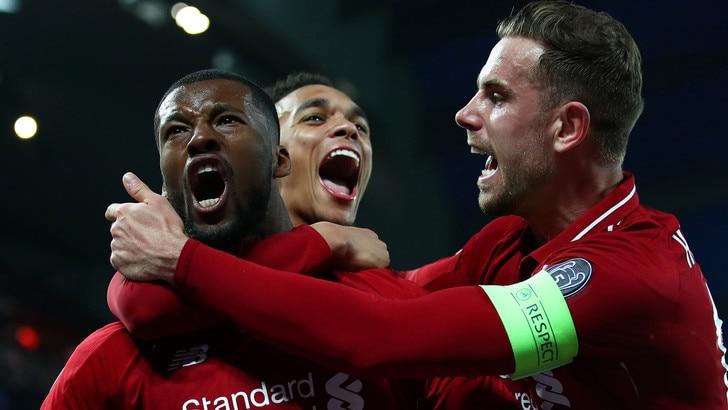 Champions, Liverpool da leggenda: il trionfo scende da 23,00 a 1,45