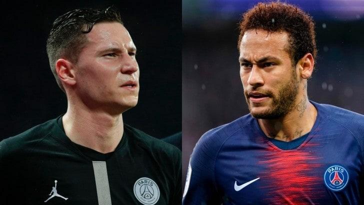 Le Parisien: «Clamoroso Psg, rissa sfiorata tra Draxler e Neymar»