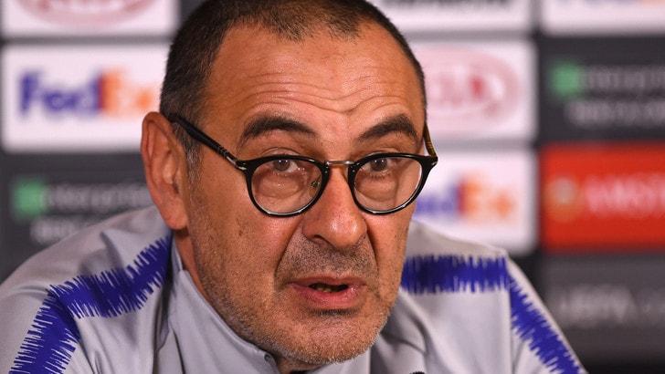 Chelsea, Sarri: «Voglio rimanere qui, mi piace il calcio inglese»