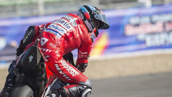 MotoGp, Ducati: a Le Mans Dovzioso e Petrucci firmano il look