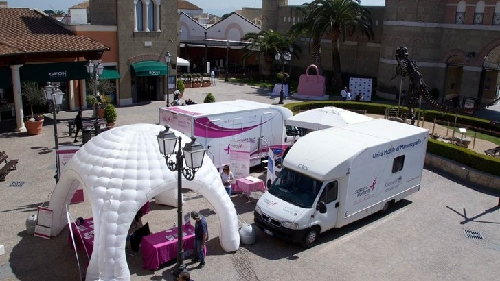 Race For The Cure fa tappa a Castel Romano Designer Outlet