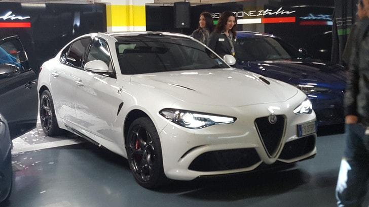Alfa Romeo Giulia Quadrifoglio, 510 cv a noleggio