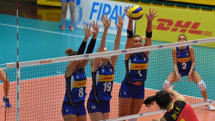 Volley: le azzurre vincono ancora contro la Cina U.23