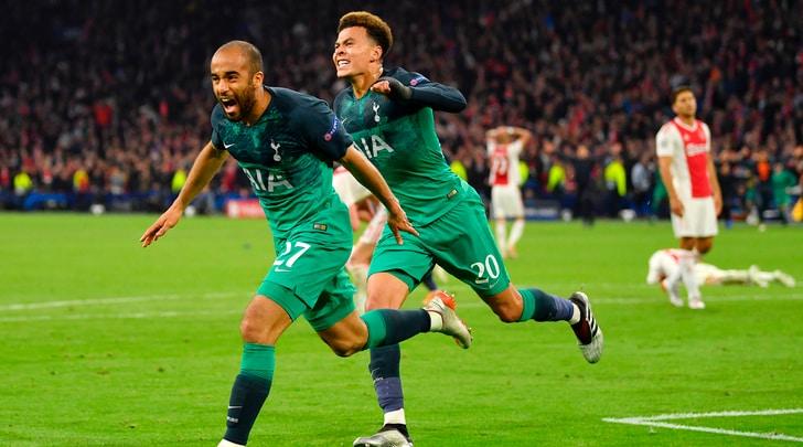 Ajax-Tottenham 2-3: rimonta pazzesca, tripletta di Lucas Moura che vale la finale!