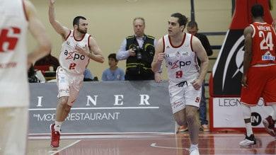 Basket A2, gara 5 sorride alle squadre di casa