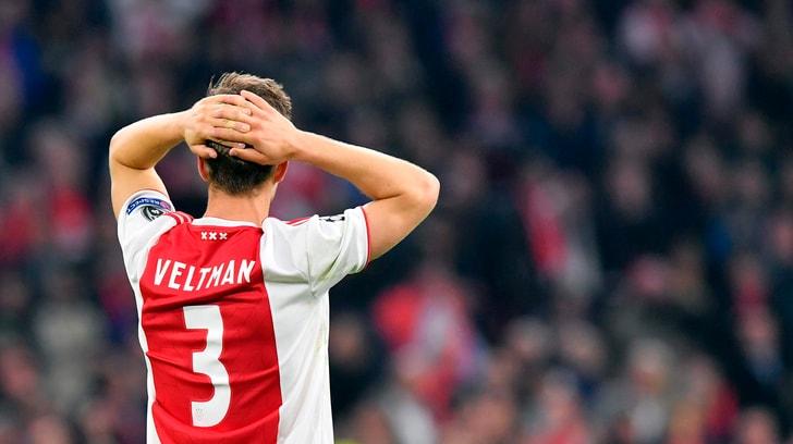 Ajax, ko non solo in Champions: crollo anche in Borsa