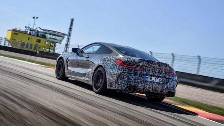 Nuova BMW M8, con l'M Mode la sportiva diventa su misura