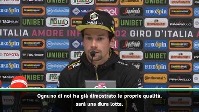 """Roglic: """"Nibali può vincere il Giro"""""""