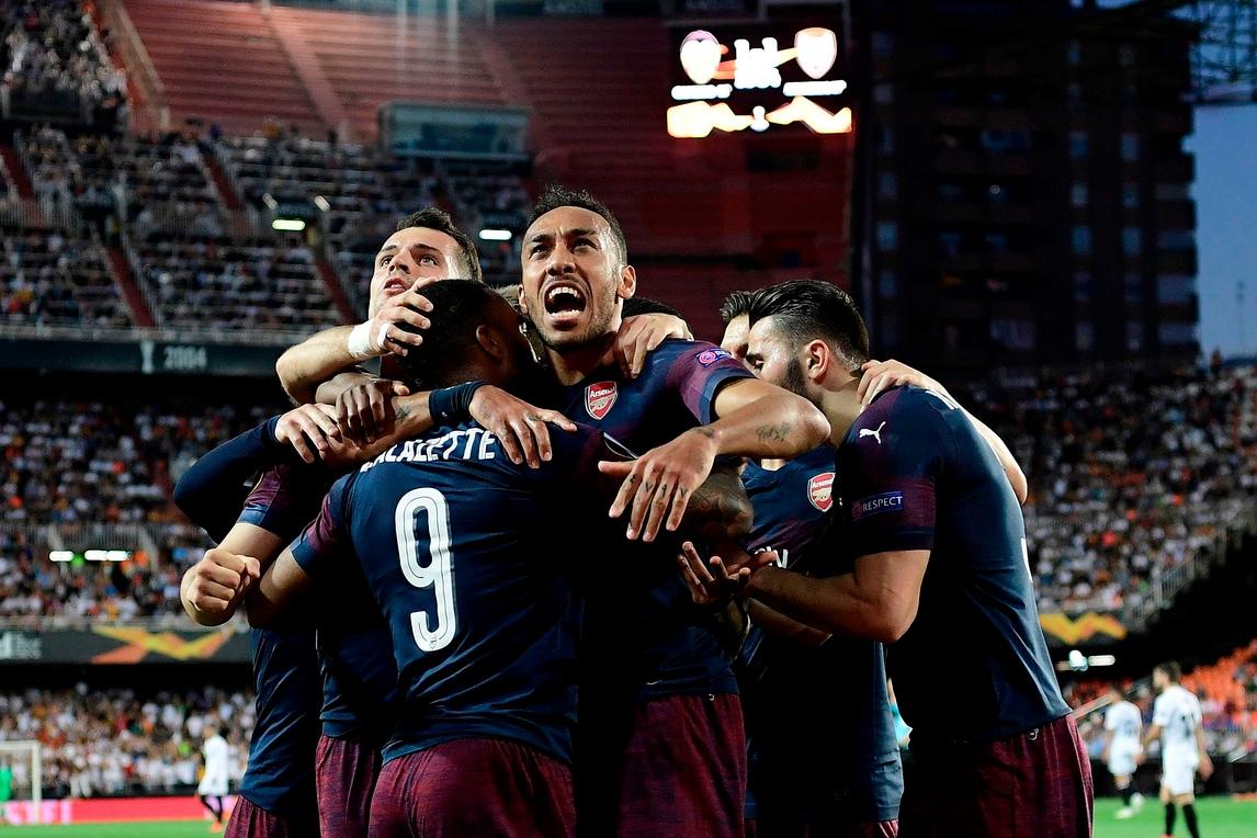 Aubameyang e Lacazette stendono il Valencia: è finale per i Gunners!