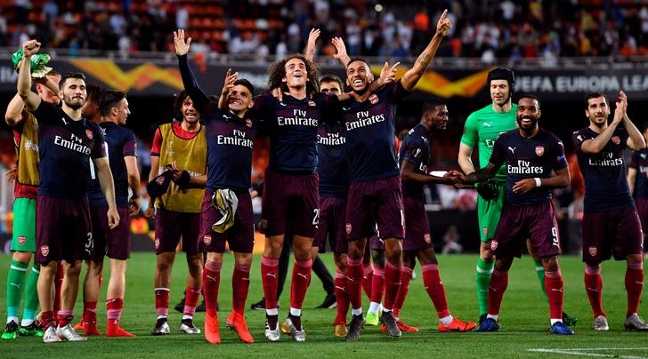 Valencia-Arsenal 2-4: Aubameyang porta Emery a Baku