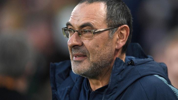 Sarri: «Futuro in Serie A? Non ora. Il calcio inglese è speciale»