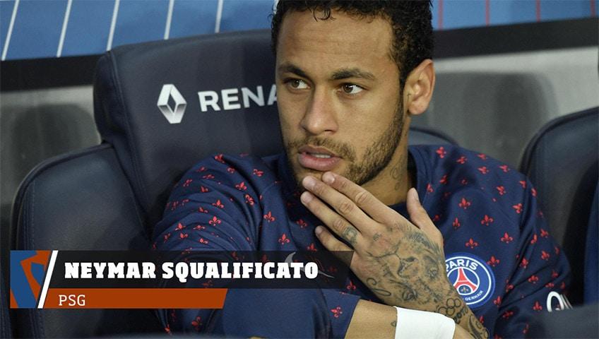 Neymar squalificato pugno a tifoso