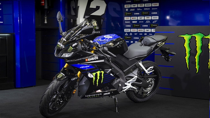 Yamaha YZF-R125 Monster Energy, supersportiva da Motomondiale