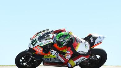 Superbike, Misano: Zanetti corre al posto di Laverty
