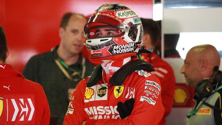 F1 Ferrari, Leclerc: «Buone potenzialità per il Gp in Spagna»