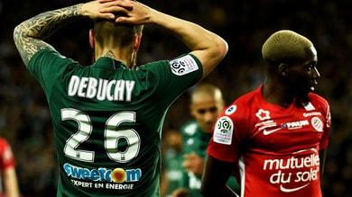 Ligue 1, ko Saint-Ètienne: sprecata un'occasione Champions