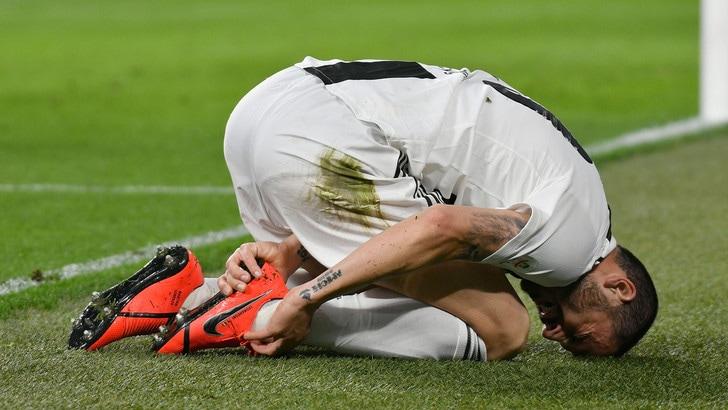 La Juventus perde Bonucci: salterà la Roma