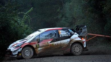 Rally Cile: al comando Tanak in testa, ritiro per Neuville