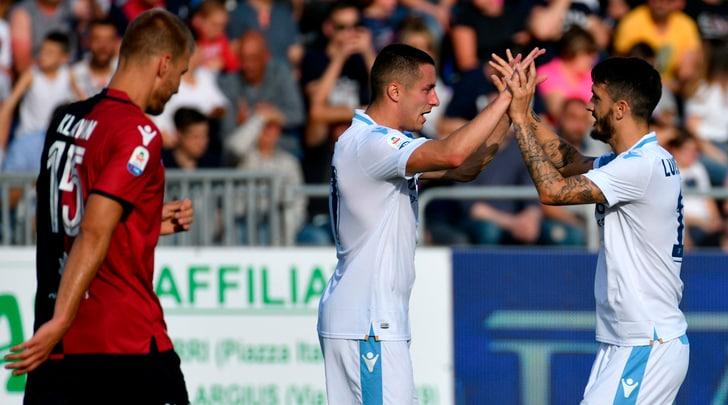 Serie A, Cagliari-Lazio 1-2: decidono Luis Alberto e Correa