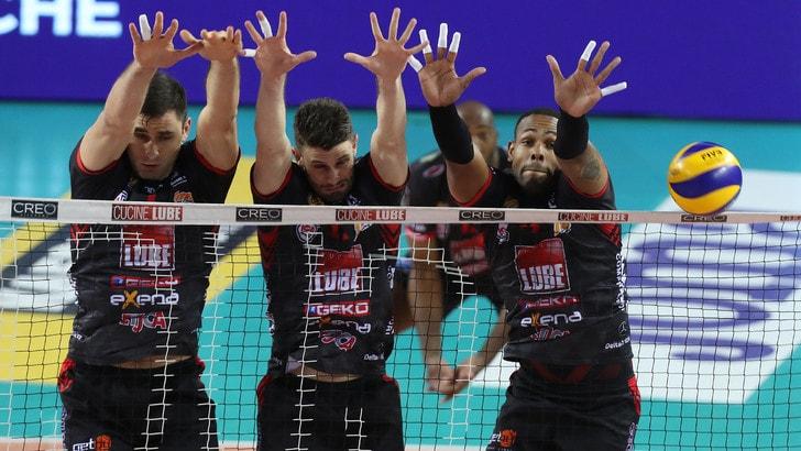 Lube Volley Calendario.Volley Superlega Finale Scudetto La Lube Schianta Perugia