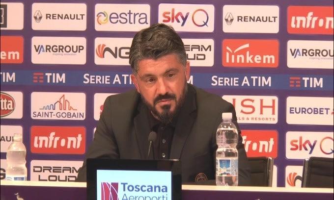 """Gattuso: """"Champions? La speranza c'è"""""""