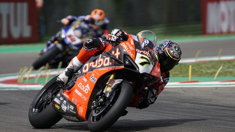 Superbike, Imola: Superpole Race, Rea fa il bis
