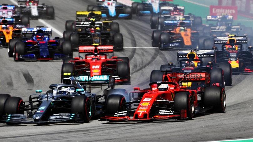 F1 Gp Spagna: Hamilton Vince, Quarto Vettel