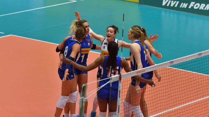 Volley: Nazionale Femminile, l'Italia contro la Thailandia nell'esordio a Montreux